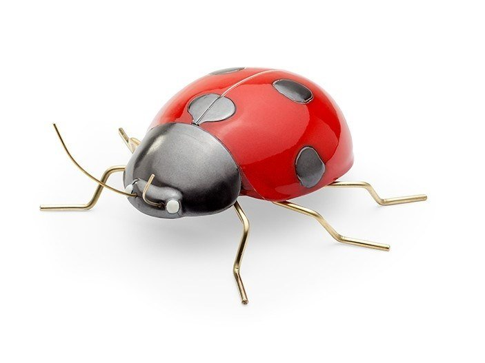Ceramic decorative object LADYBUG RED by Mambo Unlimited Ideas