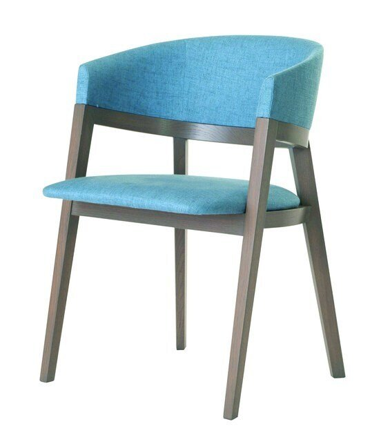 Fabric chair with armrests LAG by ROCHE BOBOIS