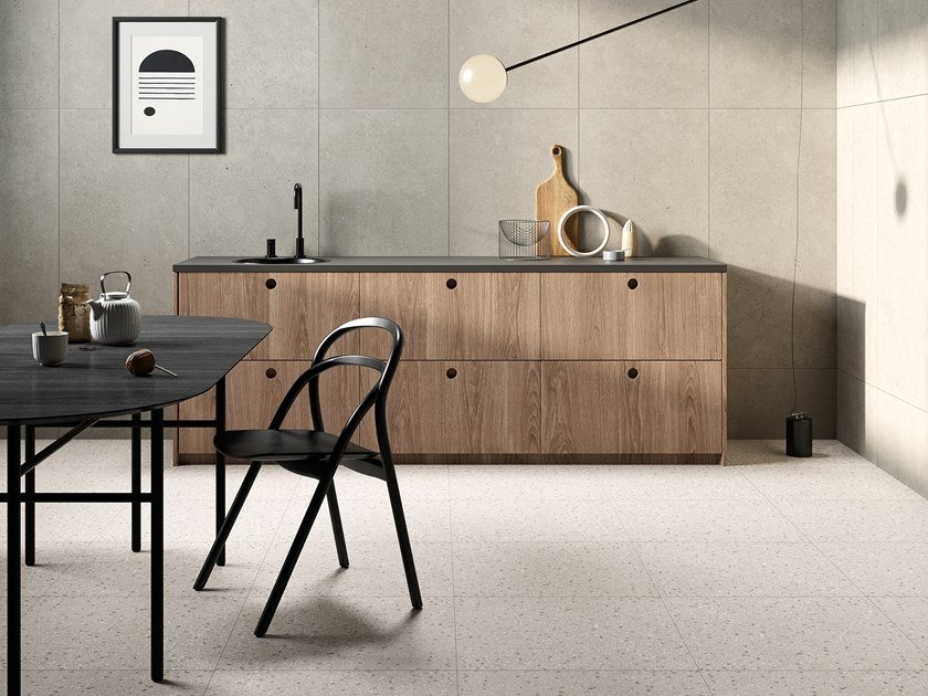 Porcelain stoneware wall/floor tiles with stone effect LAGOM by Terratinta Ceramiche