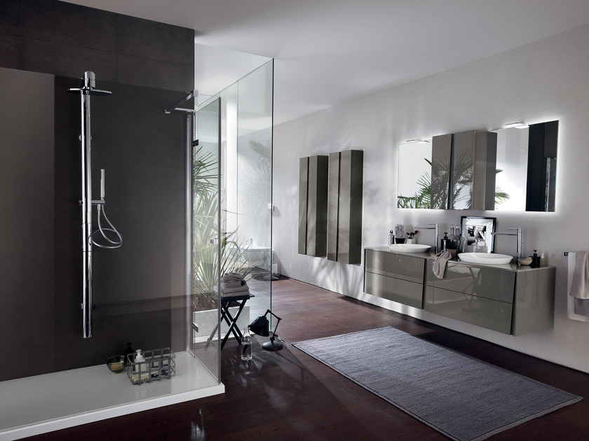 Bathroom furniture set LAGU by Scavolini Bathrooms