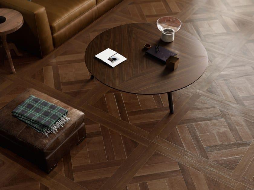 Pavimento/rivestimento in gres porcellanato effetto legno LAKEWOOD COFFER by CERAMICA SANT'AGOSTINO