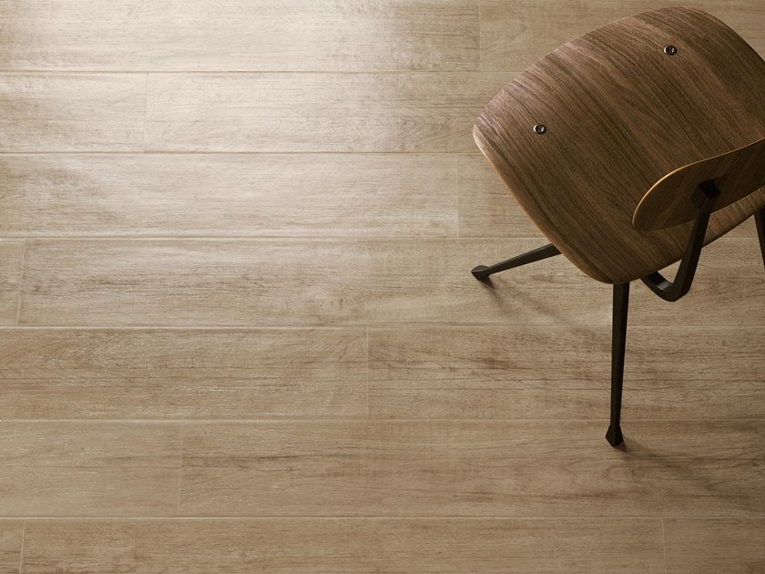 Porcelain stoneware wall/floor tiles with wood effect LAKEWOOD NATURAL by CERAMICA SANT'AGOSTINO