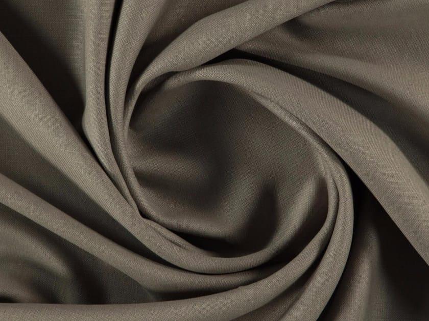 Solid-color matt linen fabric LAMBRAI by More Fabrics