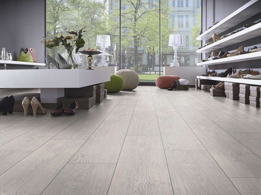 Laminate flooring with wood effect LAMFLOOR 33 by Virag