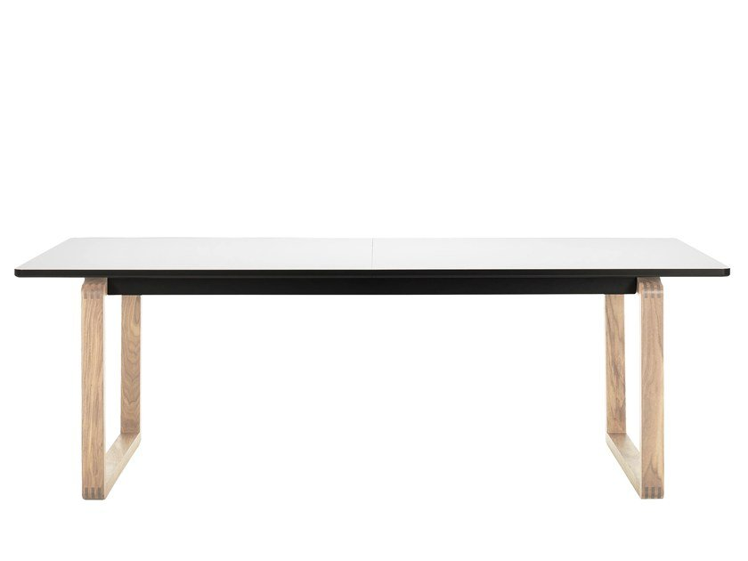 Rectangular laminate dining table DT20 | Laminate table by Bolia