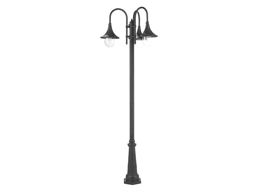 Lampione da giardino a lanterna in alluminio pressofuso LAMPARA 897 by SOVIL