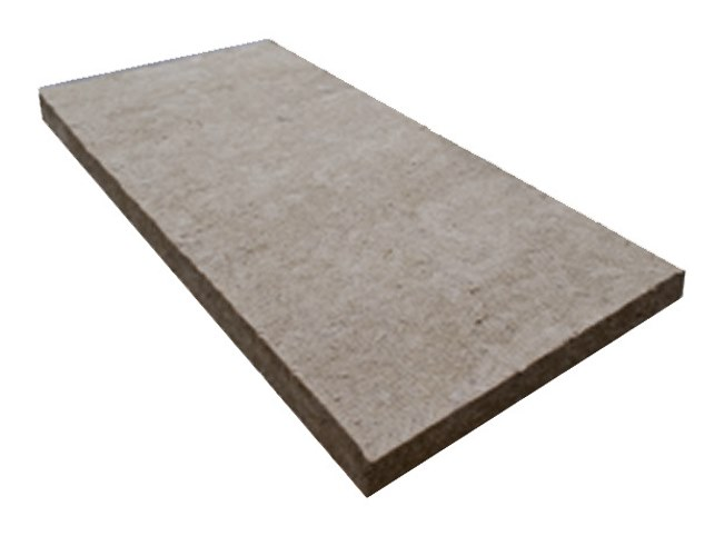 Rock wool Thermal insulation panel LANA DI ROCCIA by IDA