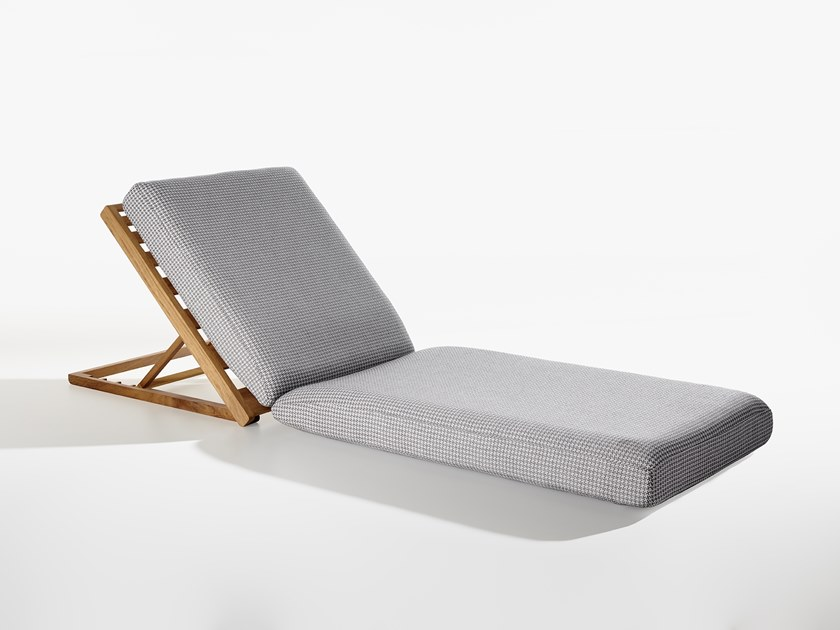 Recliner fabric garden daybed LAND by Potocco