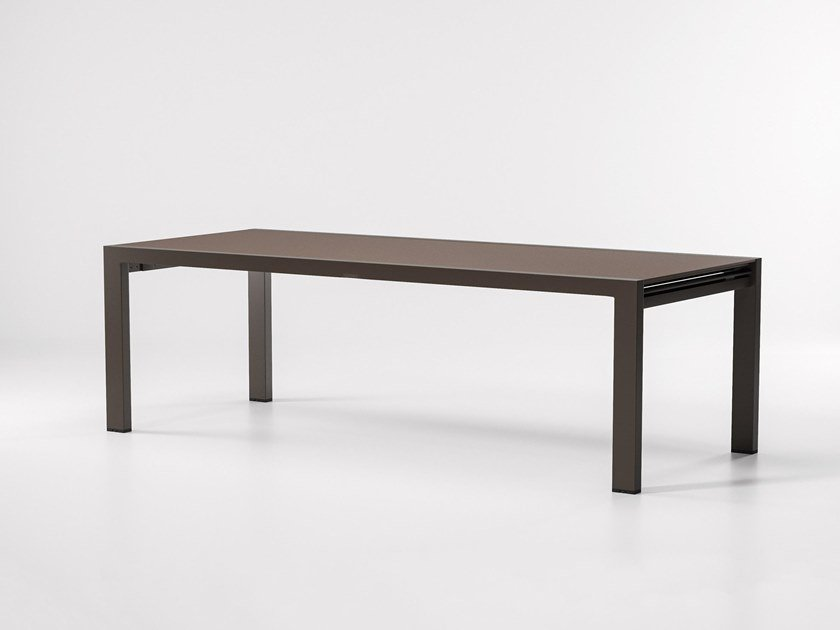 Aluminium garden table LANDSCAPE | Table by Kettal