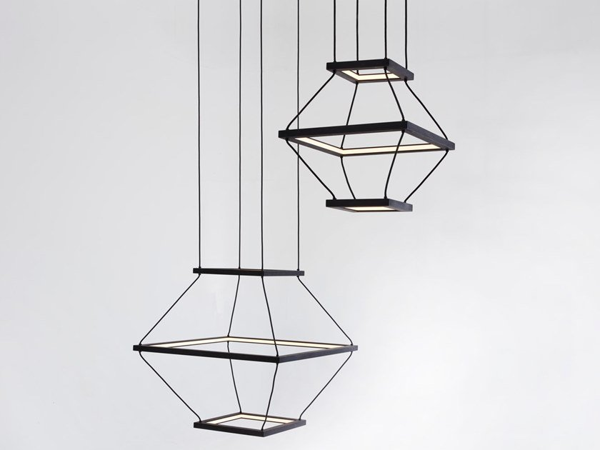 morris A Massello Led Sospensione Lampada In Hollis Lantern Legno KJcTlF3u1