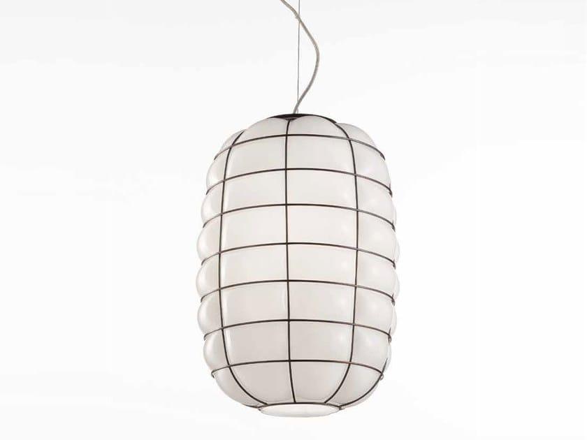 Murano glass pendant lamp LANTERNA MS438-045 by Siru