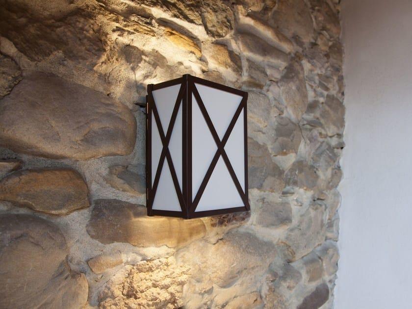 Lampada da parete a led lanternina collezione lanternina by