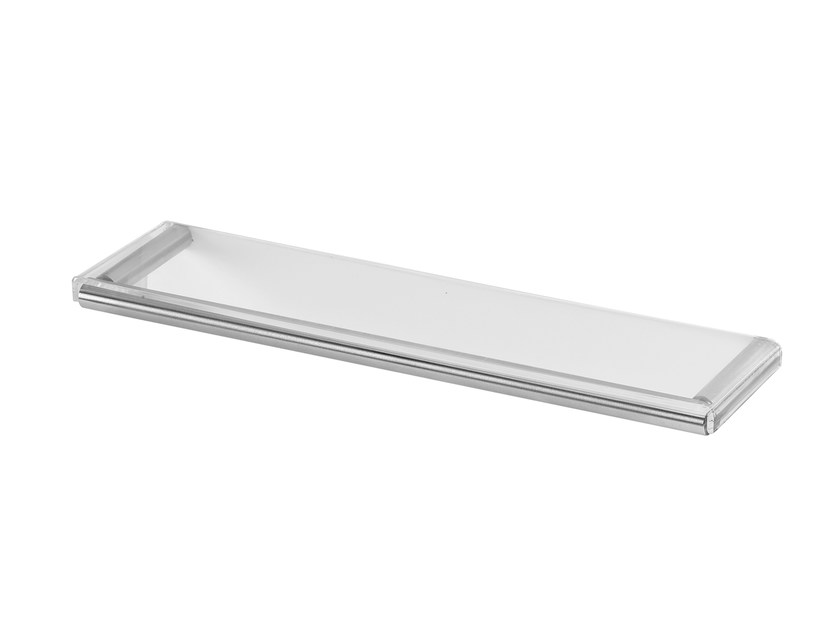 Wall-mounted stainless steel soap dish LAPA A7.28 | Soap dish by Water Evolution