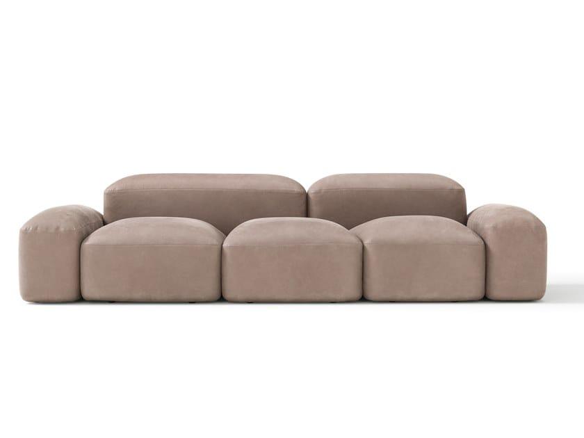 Modular 3 seater sofa LAPIS | 3 seater sofa by AMURA