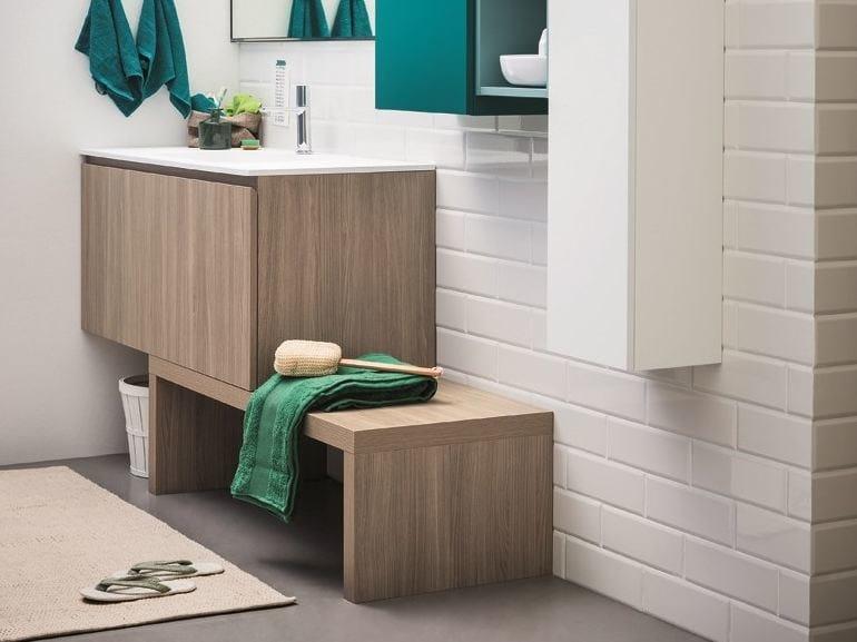 Lacquered vanity unit LAPIS | Vanity unit by Birex