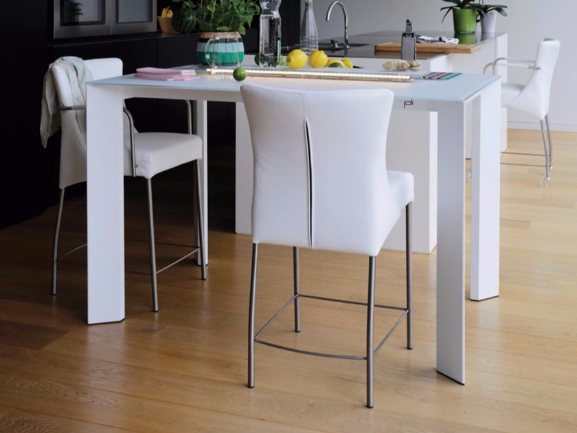 Rectangular Xeramica console table LARGO | Console table by Joli