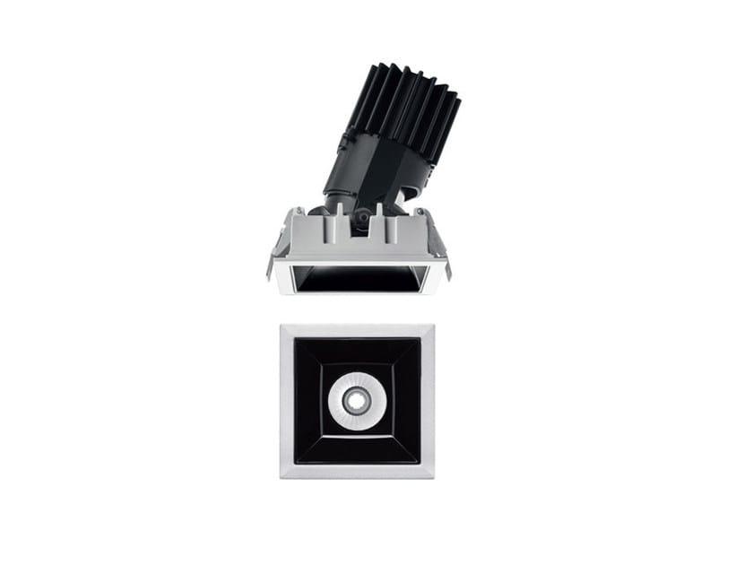 LED recessed die cast aluminium spotlight LASER BLADE L by iGuzzini