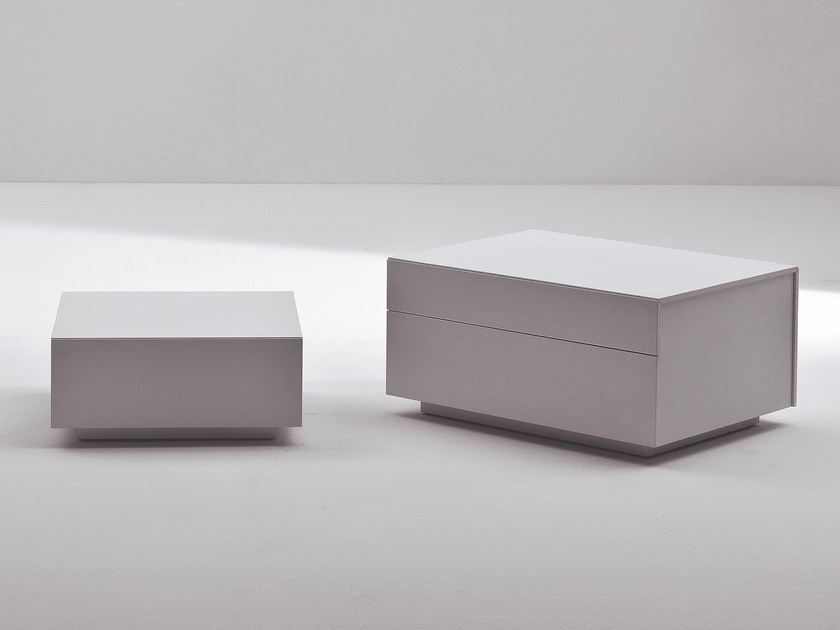 Rectangular bedside table LATO | Bedside table by Busnelli