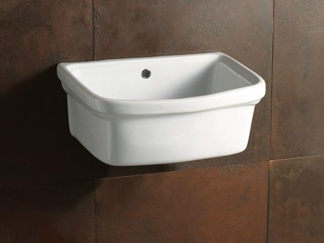 Utility sink LAUNDRY 45X38 | Utility sink by Alice Ceramica