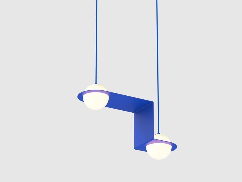 Lámpara colgante LED con luz directa LAURENT 06 by Lambert & Fils