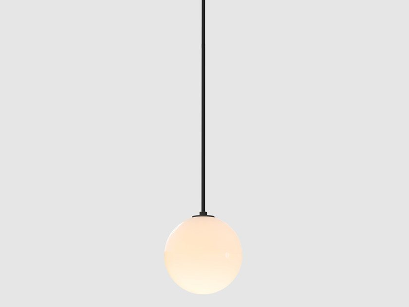LED direct light pendant lamp LAURENT 10 by Lambert & Fils