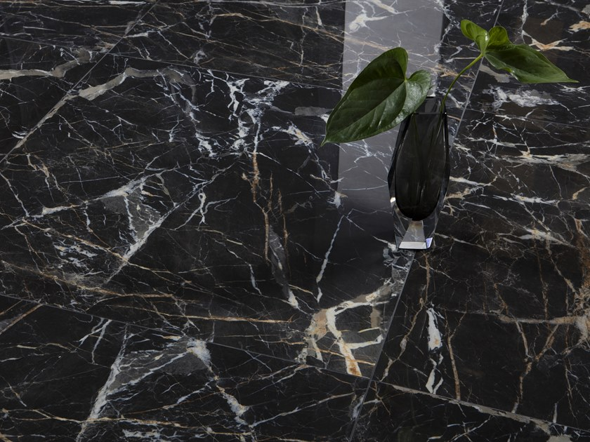 Wall/floor tiles with marble effect LAURENT by Museum