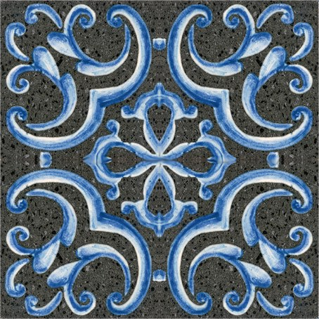 Pavimento/rivestimento LAVA STONE LUX BLUE by BLEU PROVENCE