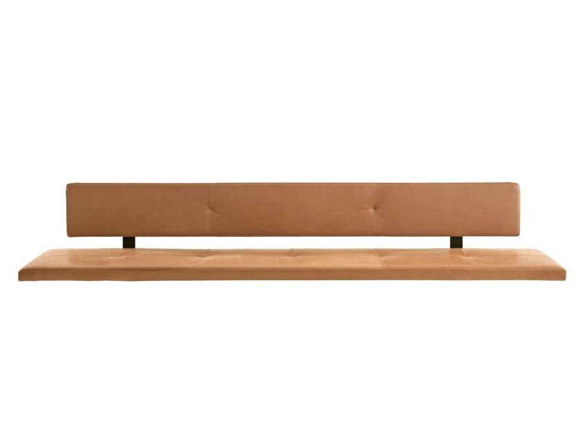 Wall Mounted Bench Seating With Back Lax By More