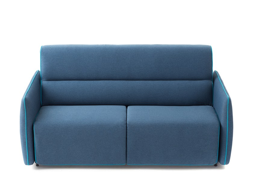 Fabric sofa bed LAYER | Sofa bed by Extraform