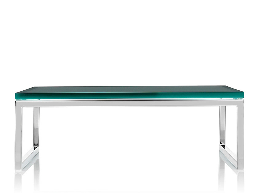 Rectangular glass coffee table LAYLA   Glass coffee table by Boss Design