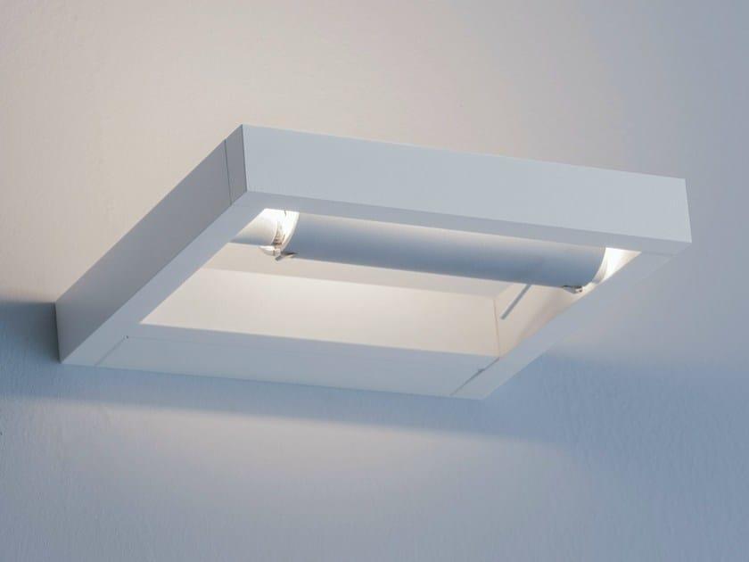 Adjustable powder coated aluminium wall light LAYLA by Lucente