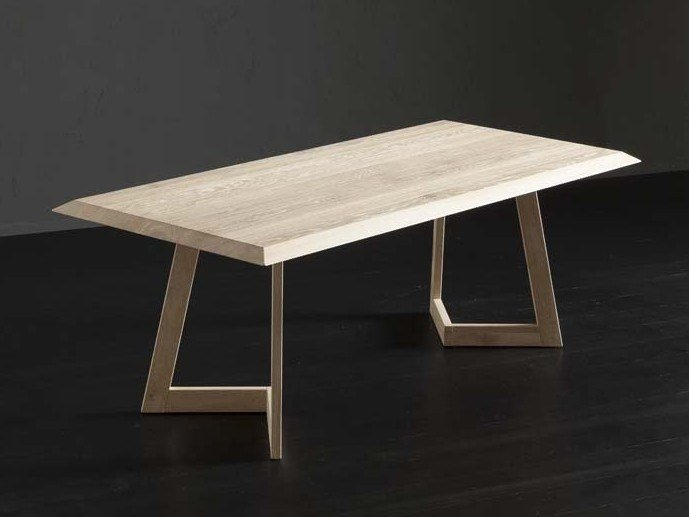 Rectangular wooden dining table RIO + SEVEN by AltaCorte