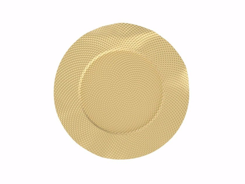 Brass drink coaster SITGES | Drink coaster by Alessi