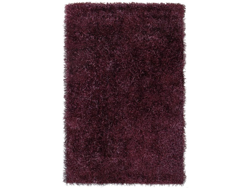 Solid-color rectangular polyester rug LE MATERIE POLIESTERE EBANO by G.T.DESIGN