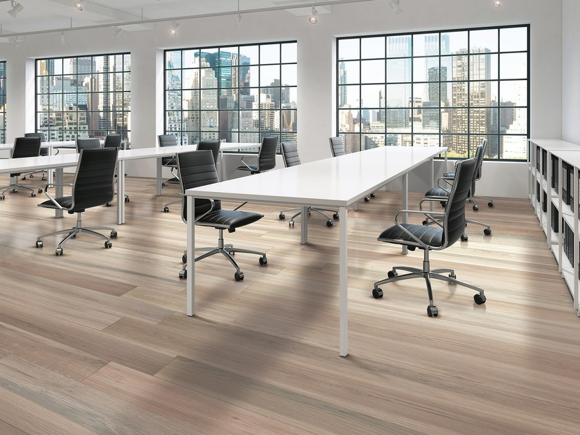 Flooring with wood effect LE PLANCE by Serenissima