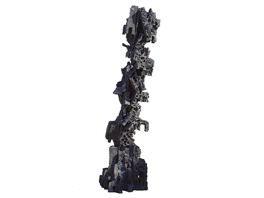 Scultura in alluminio LE SEDIE by Mirabili