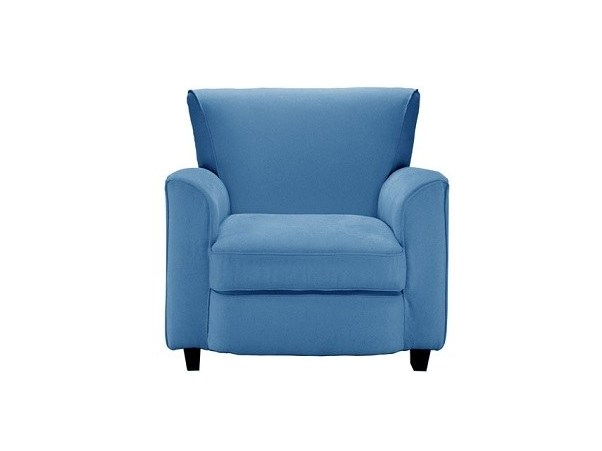 Fabric armchair with armrests LE81   Armchair by Matrix International
