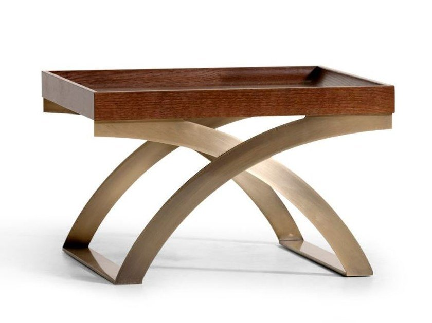 Square coffee table with tray LEAR by OPERA CONTEMPORARY
