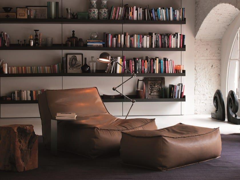 Leather armchair ZOE   Leather armchair by Verzelloni
