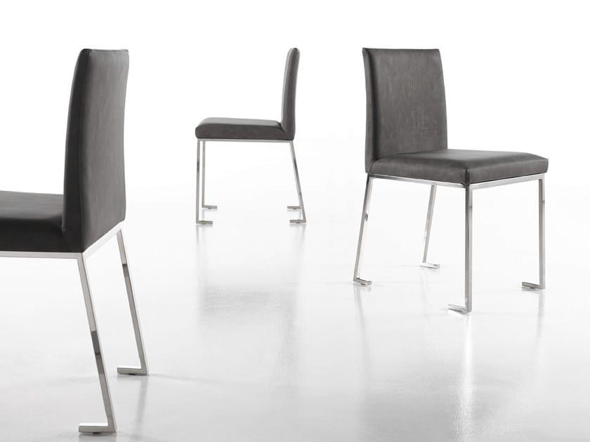 BERLINER | Sedia in pelle Collezione Berliner By Altinox design ...