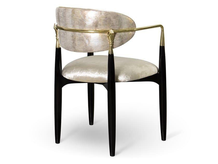 NAHEMA | Stuhl aus Leder