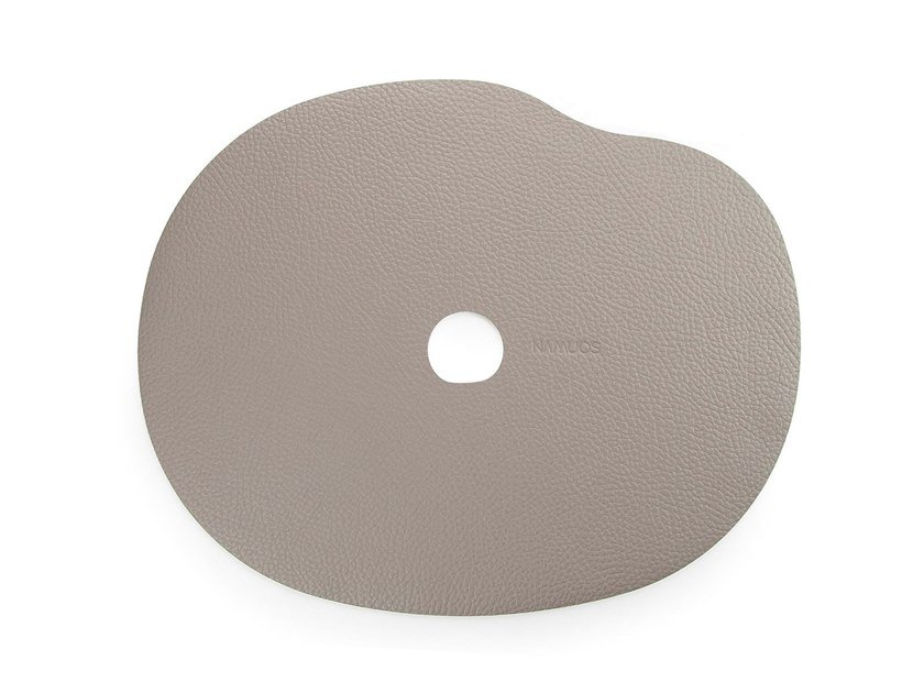 Leather placemat MILLESTONES | Leather placemat by Namuos