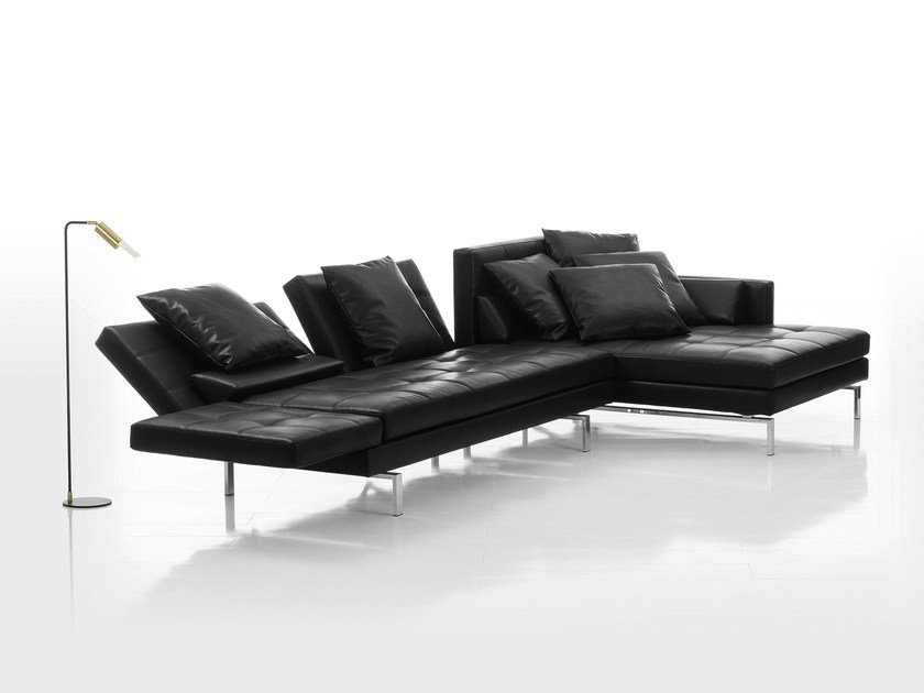 AMBER | Leather sofa Amber Collection By brühl design Roland ...