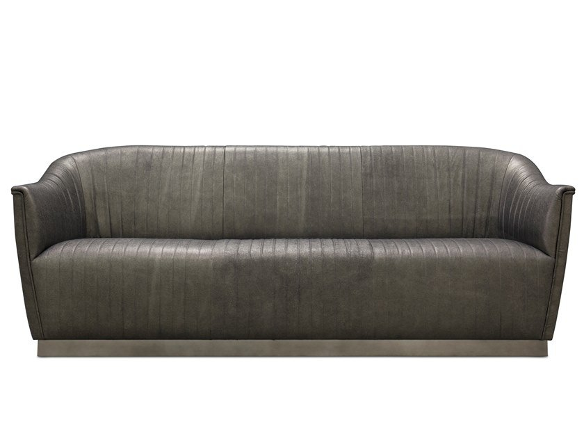 3 seater leather sofa MIA | Leather sofa by KOKET