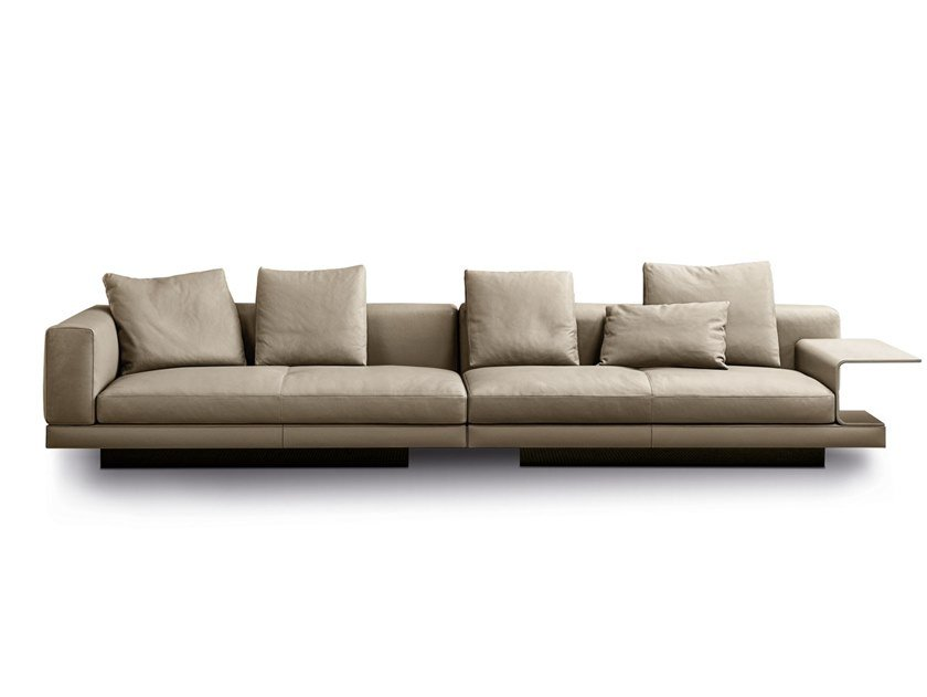 Connery Sofa Aus Leder By Minotti Design Rodolfo Dordoni