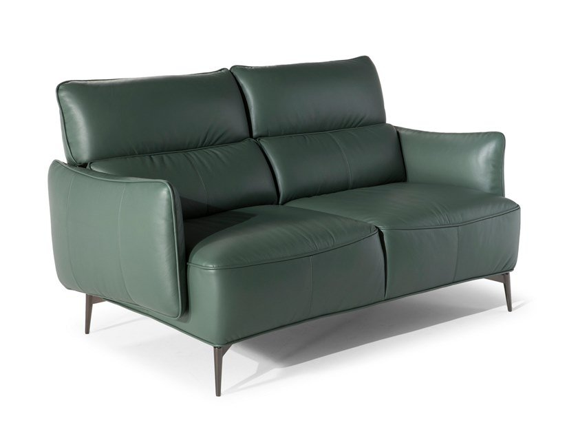 Leather sofa MENTORE | Leather sofa by Natuzzi