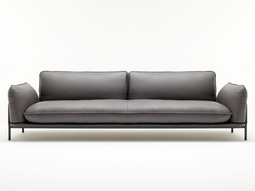 Leather sofa ROLF BENZ 515 ADDIT | Leather sofa by Rolf Benz
