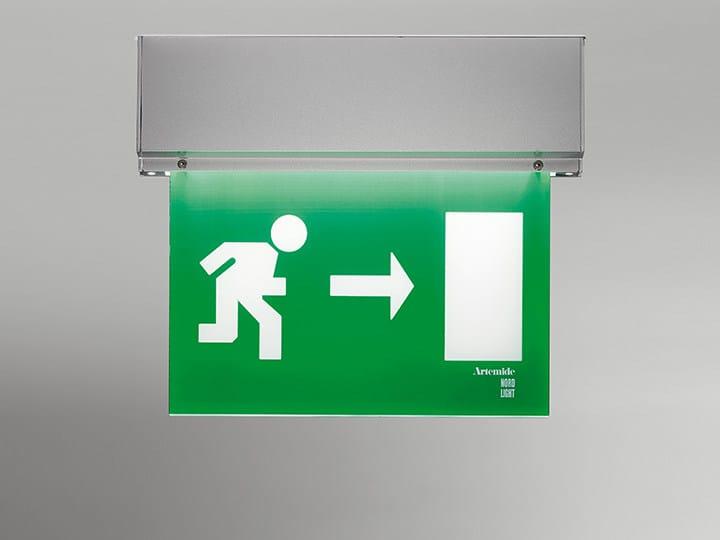 LED polycarbonate emergency light LEB | Emergency light by Artemide