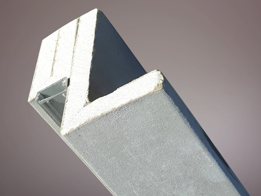Gypsum Linear lighting profile for LED modules LED 015 by Profilgessi