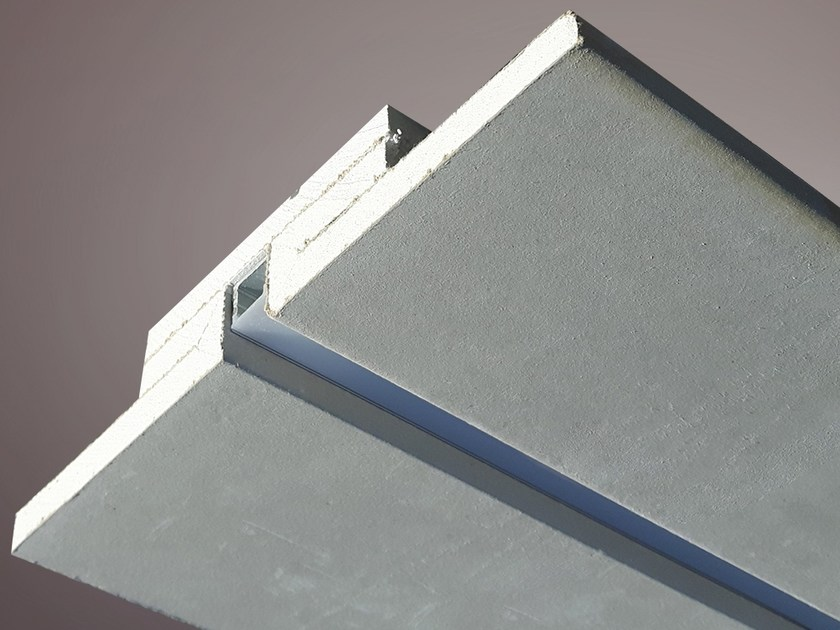 Gypsum Linear lighting profile for LED modules LED 016 by Profilgessi